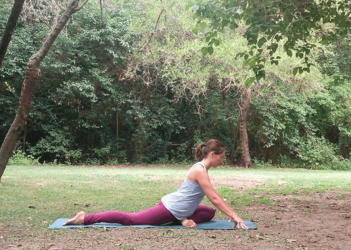 Como hacer la postura kapotasana paloma yoga